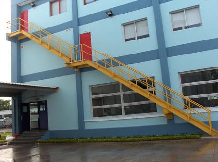 Cầu thang thoát hiểm MV01