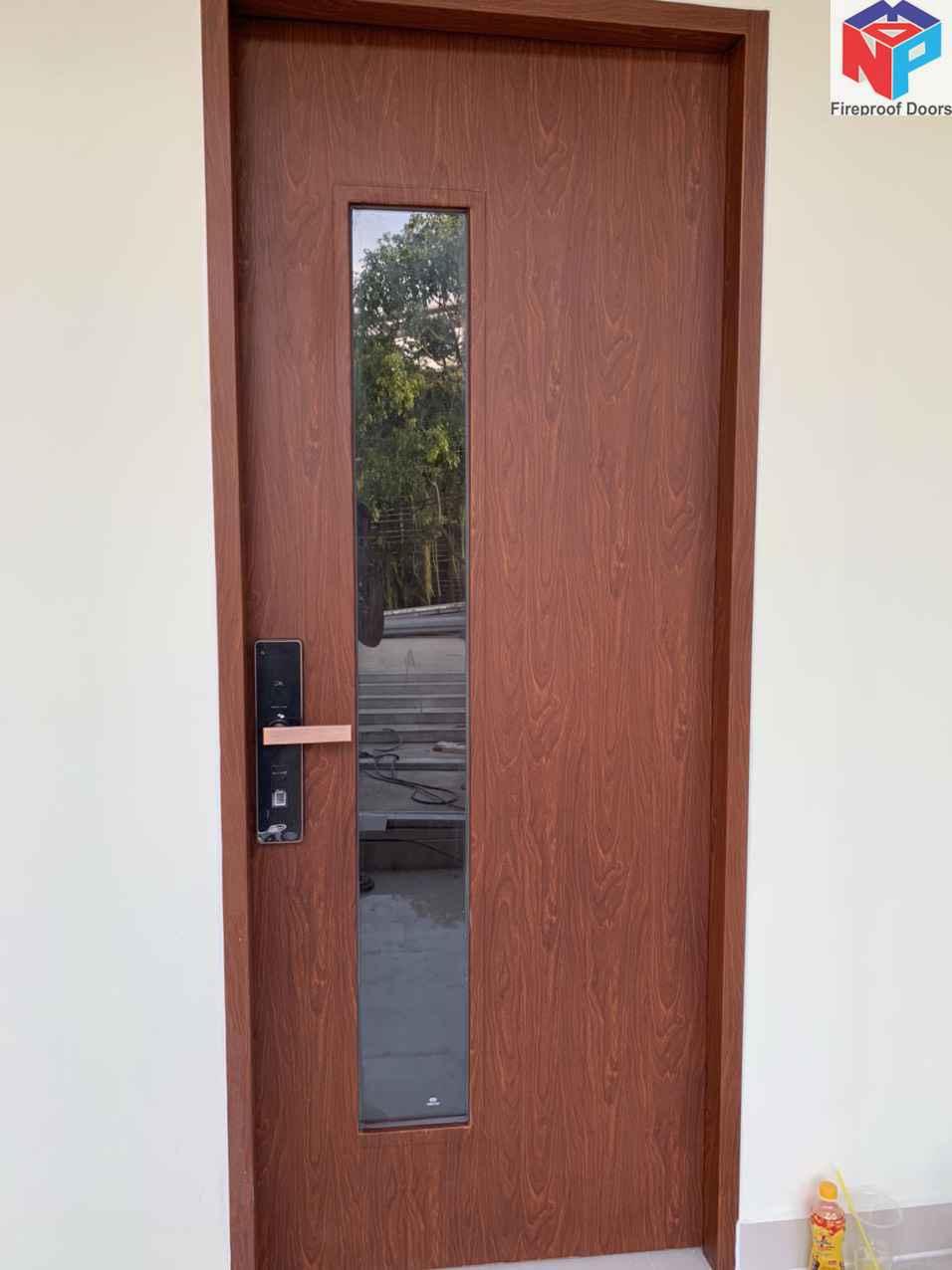 Mẫu cửa thép chống cháy Np003